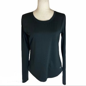 Under Amour heat gear long sleeve mesh back top